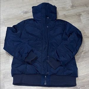 Old Navy navy blue winter jacket